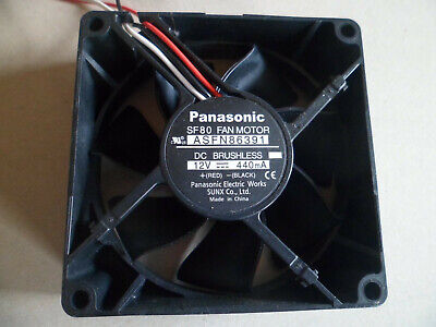 PANASONIC SF 80 FAN MOTOR ASFN80391 VENTILATEUR 12VDC