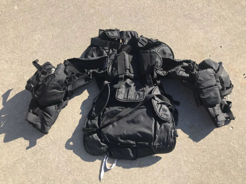 SIMMONS ILLUSION CHEST PROTECTOR GOALIE? UMPIRE? USED