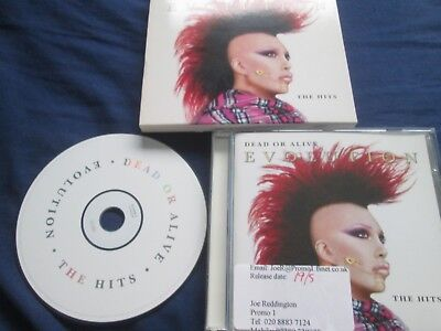 Usado, Dead Or Alive – Evolution: The Hits Label: Epic Records 511026 2 CD Album segunda mano  Embacar hacia Mexico
