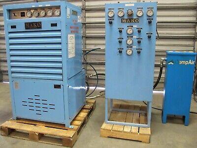 Mako Scuba Scba Air Compressor 13cfm 5000 Psi