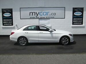 2015 Mercedes-Benz C-Class PANORAMIC SUNROOF, NAV, BACKUP CAM...