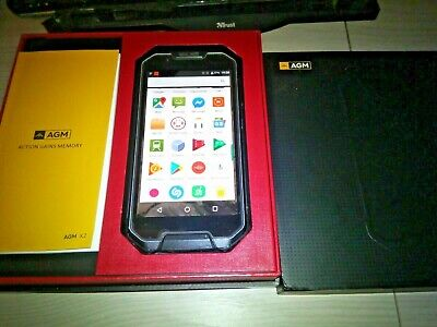 Agm X2 VOC sensor 6+64G Octa Core IP68 Boxed OVP  Rugged Outdoor Phone Unlocked, used for sale  Shipping to Nigeria