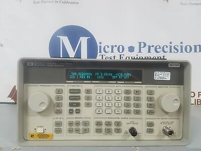 HP 8648B SIGNAL GENERATOR *POWERS ON* *SOLD AS IS*