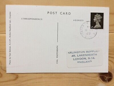 Machin issue  Great Britain on card