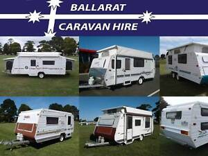 Caravans For Hire, $50 -$120 per day, (15 to pick from) Ballarat Central Ballarat City Preview