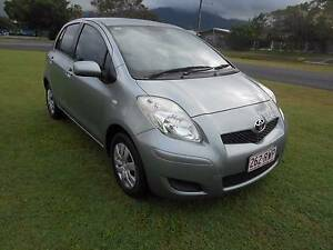 2011 Toyota Yaris Hatchback 86000KLMS Bungalow Cairns City Preview