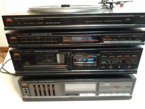 Great Vintage Fisher Integrated Stereo System, Everything Working