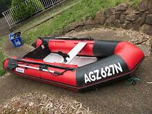 3M Inflatable Surf Boat with 9.8HP motor - Perfect For Fishing Queenscliff Manly Area Preview