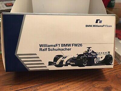 RALF SCHUMACHER WILLIAMS F1 BMW FW26 1:18 2004 MIB