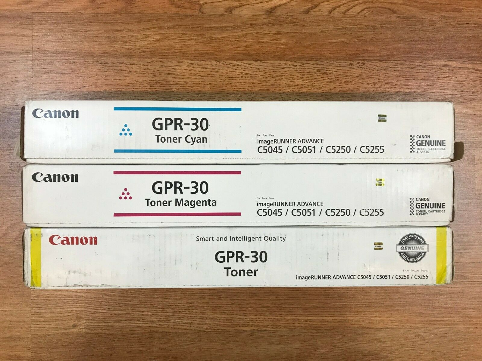Canon GPR-30 CMY Toner For imageRUNNER ADV C5045 C5051 C5250