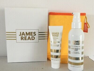 James Read Sleep Mask Face and Sleep Mask Body with Application Mitt new in box