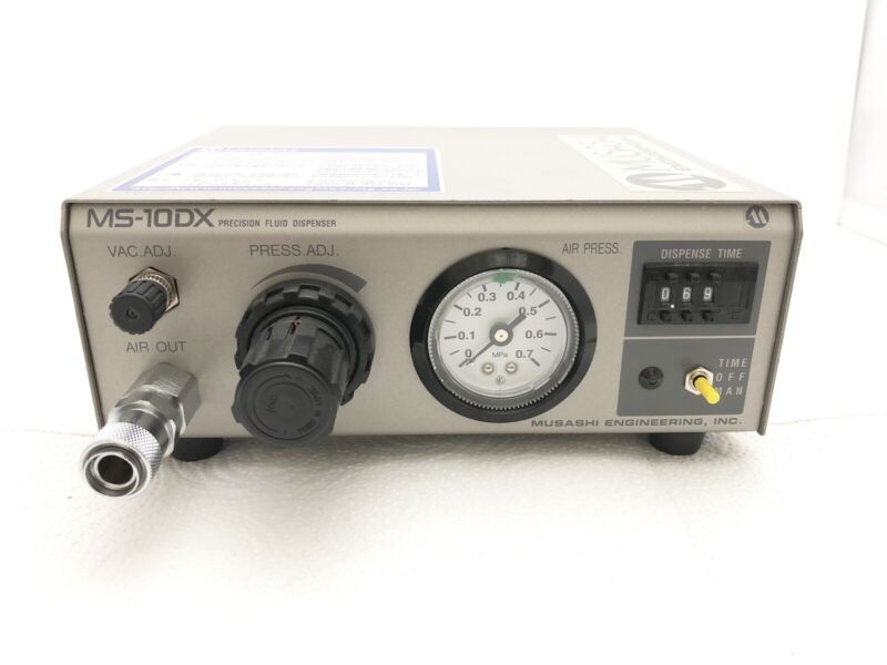 MUSASHI Engineering MS-10DX Precision Fluid Dispenser