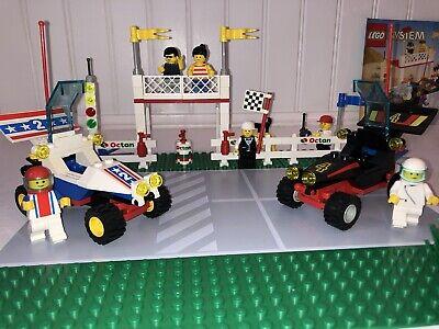 RETIRED+VTG 1992! LEGO Town Checkered Flag 500 OCTAN Race Set (6551) w/ Manual!
