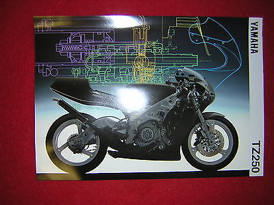 Yamaha TZ250 '95 Specification Sheet. Produced by Yamaha. New