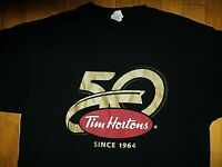 "Unisex Red - NEW TIM HORTON/'S Coffee /""Dark Roast/"" T Shirt Size Adult Medium"