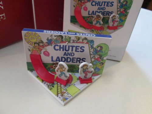 Chutes and Ladders - Family Game Night 5 - Hallmark Ornament 2018