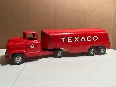 Buddy L Texaco Tanker Tractor Trailer GMC Truck