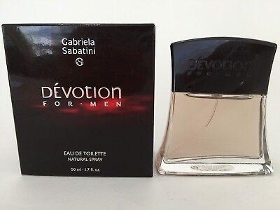 Devotion by Gabriela Sabatini Cologne Men 1.7 oz / 50 ml Eau de Toilette Spray