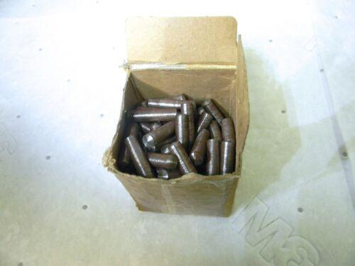 """Stanlok Steel Taper Pin #7 x 1-1/2"""" L 0.3778"""" Small to 0.409 Lg End Qty100 2PZX6"""