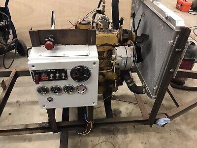 Power Unit Engine Cat 1404 Propane Project