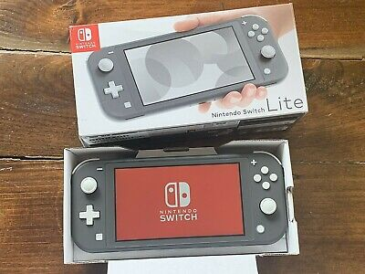 Latest Nintendo Switch Lite Handheld Gaming Console System 32GB - Gray Color