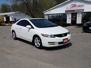2009 Honda Civic Cpe LX !!CERTIFIED!!FINANCING!!WARRANTY!!