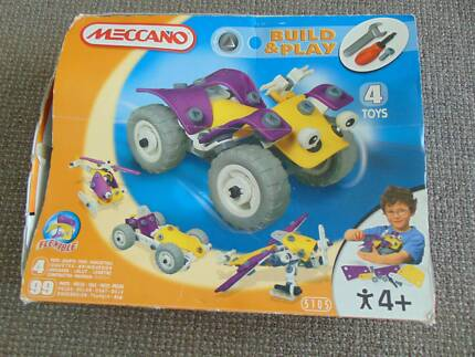 Mecccano 'Build and Play' 4 Toy Kit