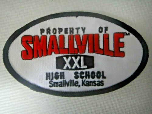 """Smallville TV Series """"Property of Smallville High School"""" Embroidered Patch -new"""