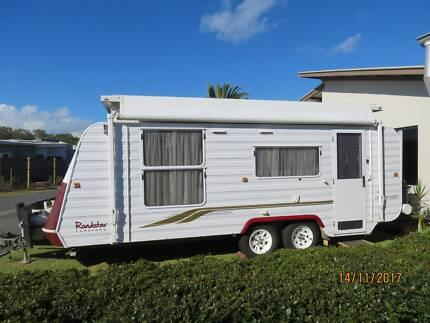 Rare Roadstar 2000 Pop Top Caravan ready for independent camping