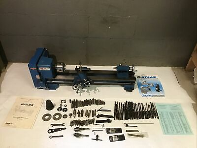 Atlas Clausing Craftsman 6 Metal Lathe 10100 W Tooling Paperwork 4 Jaw Chuck