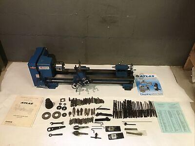 Atlas Clausing Craftsman 6 Metal Lathe 10100 W Tooling Paperwork 4 Jaw Chuck