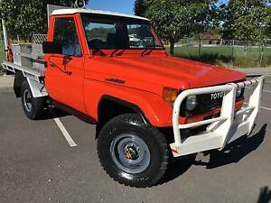 1987 Toyota LandCruiser HJ75 4x4 Traytop. Ex Rural Fire service Inverell Inverell Area Preview