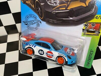 "Hot Wheels Porsche 911 GT3 RS ""GULF RACING"" REAL RIDERS custom"