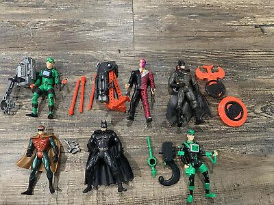 Batman Forever Action Figure Lot Kenner See Description