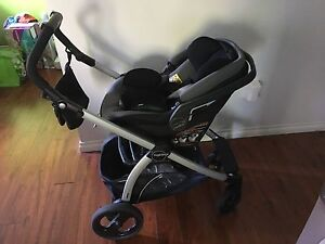 Peg Perego Travel System stroller and car seat