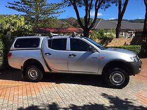 2008 Mitsubishi Triton Dual Cab Ute Russell Vale Wollongong Area Preview