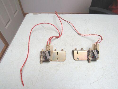 MAZAK AJV-25/404 CNC VMC CONTROL PANEL DOOR SAFETY MICRO SWITCHES FREE SHIP