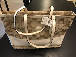 Coach diaper bag brand new with tags