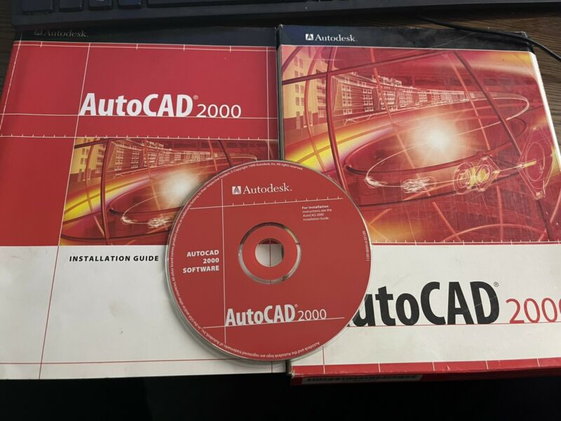 AutoCAD 2000 R13 Software