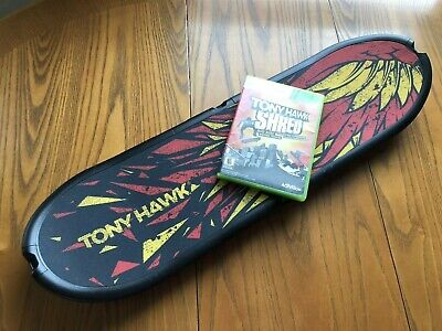 XBOX 360 TONY HAWK SHRED SKATE BOARD CONTROLLER AND GAME by ACTIVISION