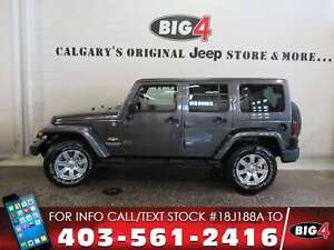 2014 Jeep Wrangler Unlimited Sahara | Side Air Bags | Colored To
