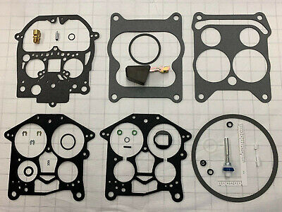 ROCHESTER QUADRAJET MARINE CARBURETOR REBUILD KIT & FLOAT MERCRUISER 823426A1