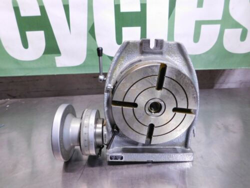 """Phase II Horizontal Vertical Rotary Machining Table, 6"""" Table, 2MT, #221-306"""