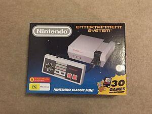 BRAND NEW Nintendo Classic Mini NES System Turramurra Ku-ring-gai Area Preview