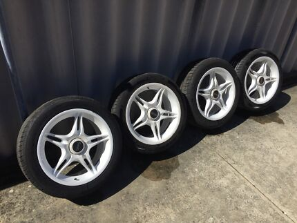 "Arrow 17"" mag Nissan S15 S14 200SX wheels with tyres Attadale Melville Area Preview"