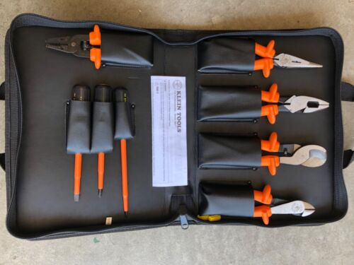 Klein Tools 33529  Insulated Tool Set, 8 Pc w/ Carrying Case, High Voltage Tools