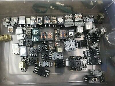 Power Relay Misc Large Lot Pieces Electrical Controls