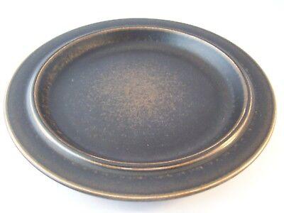 Vintage Arabia Finland Ruska Ulla Procope Pottery Dinner Plate Retired ~ C