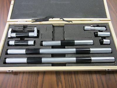 100-1300mm Metric Inside Micrometer 0.01mm Graduation Part 404-m1300--new