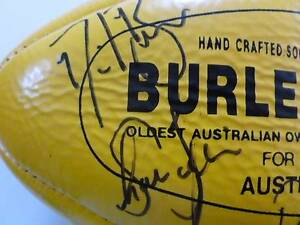 AFL Adelaide Crows - ONE Off - signed football Flagstaff Hill Morphett Vale Area Preview